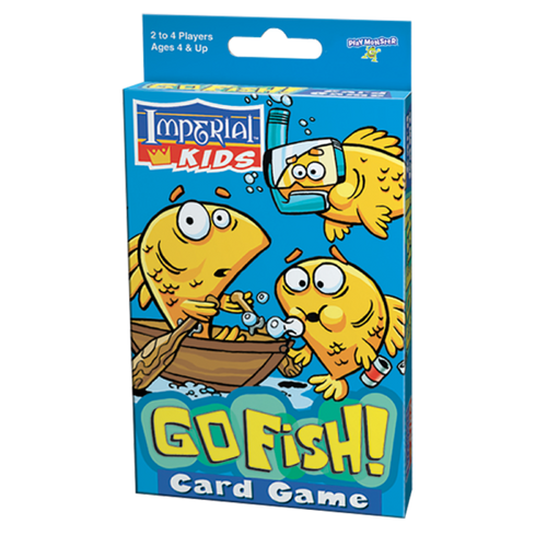 Play Monster Go Fish card game
