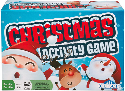 Outset Christmas activity game front of box