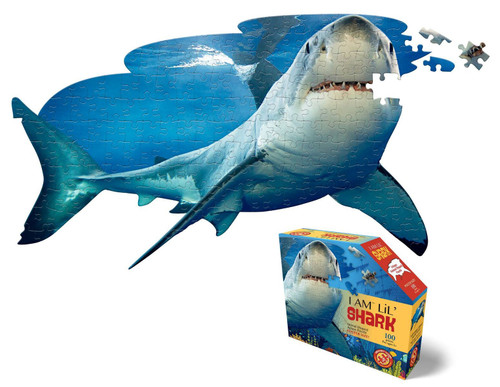 Animal shaped shark puzzle