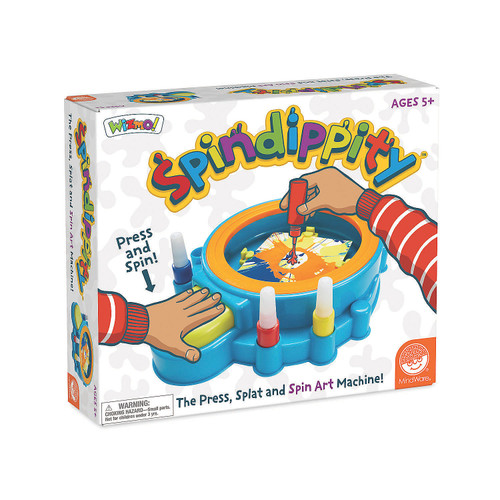 Spin dippity painting set