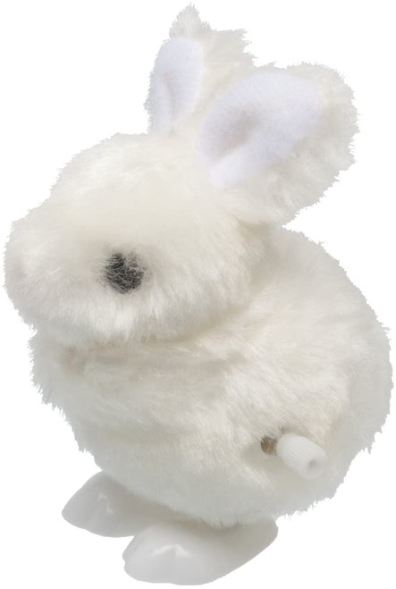 Vilac windup bunny plush hopping