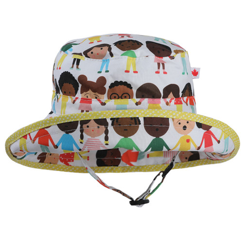 Celebrate Adjustable Sun Hat - Front View