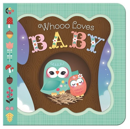 Who Loves Baby greeting card board book