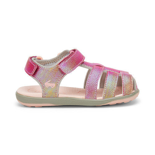See Kai Run Paley sandal hot pink shimmer right side