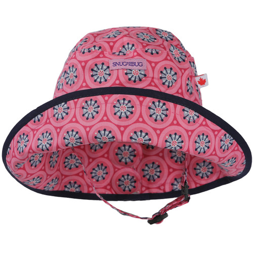 Pinwheel Adjustable Sun Hat - Front View