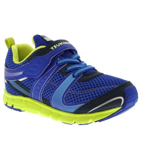 Tsukihoshi runner Velocity blue lime right side