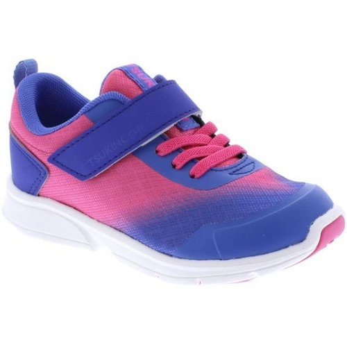 tsukihoshi kids runner turbo fuschia/lilac