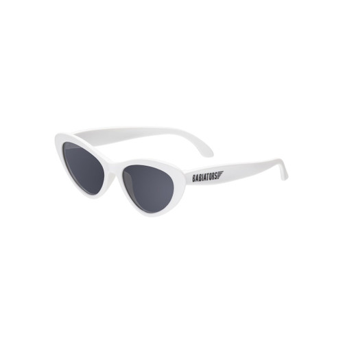 Babiators kids sunglasses cat eye style white