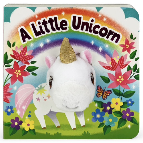 """a little unicorn"" finger puppet book"