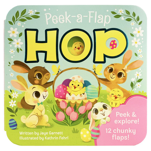 "Peek a flap book ""hop"""