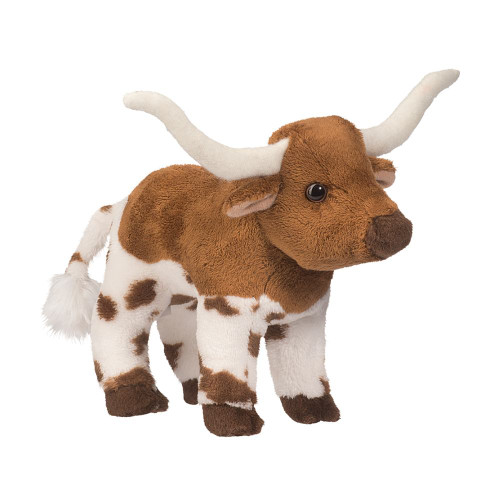 Zeb longhorn bull small plush toy