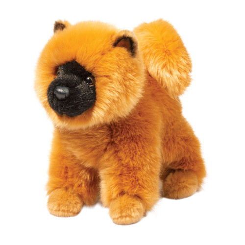 Taya chow plush toy dog