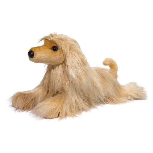 douglas cuddle toys afghan hound plush toy