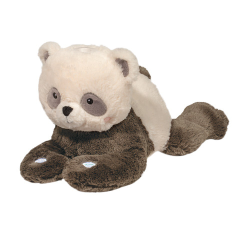 plush panda with music and lights infant safe