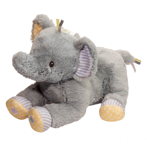light up musical infant safe elephant plush toy