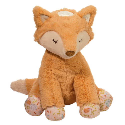light up musical infant safe fox plush