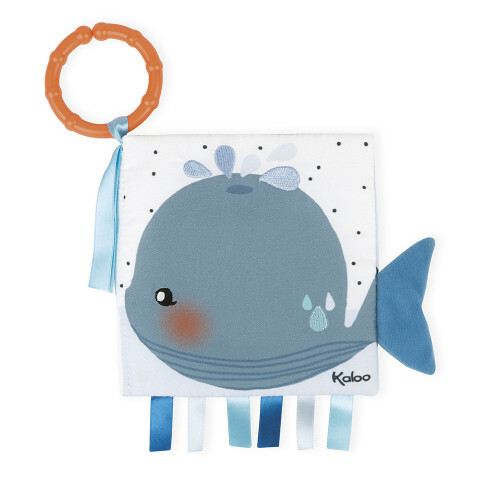 The sad whale activity book
