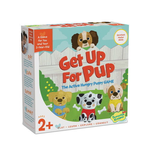 "peaceable kingdom ""up for pup' game"