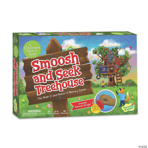 peaceable kingdom smoosh and seek game box