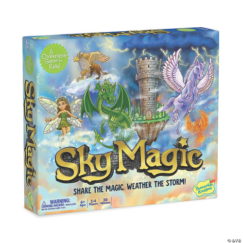 "peaceable kingdom cooperative game ""sky magic"""