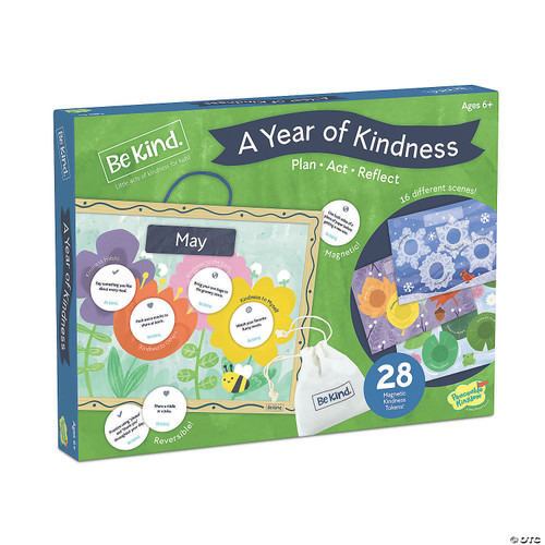 Peaceable kingdom a year of kindness boxed calendar activity
