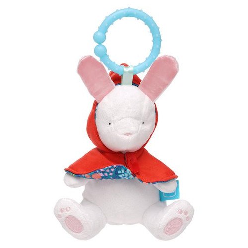 manhattan toy fairytale rabbit take along baby toy