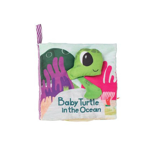 What's outside? cloth book sea turtle