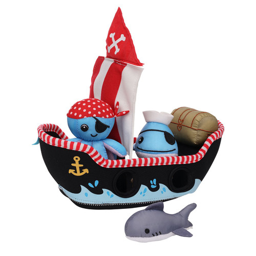 manhattan toys pirate ship bath toy