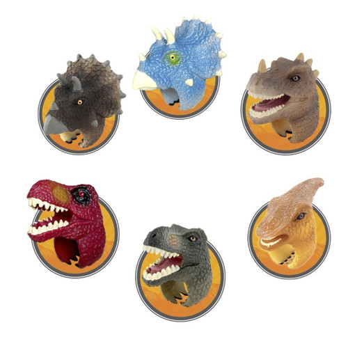 kids dinosaur rings 6 shown