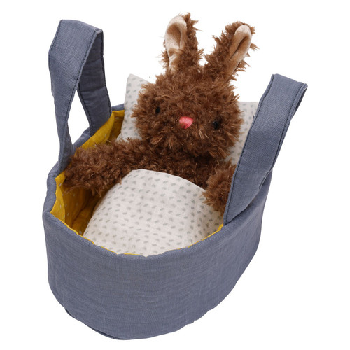 manhattan toys beau bunny plush toy