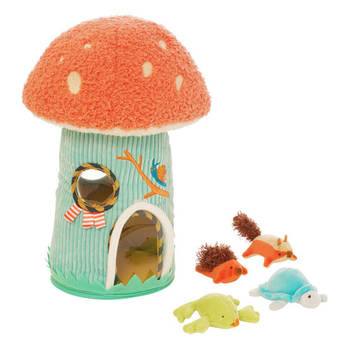 manhattan toys toadstool cottage baby toy