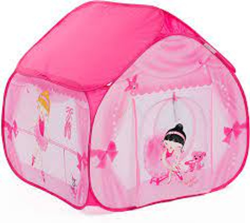 ballerina pop up play tent