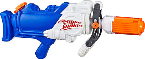 Super Soaker Hydra water blaster toy