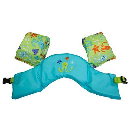 blue and lime swimways swim trainer