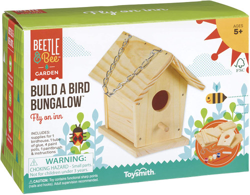 build a bird bungalow birdhouse kit