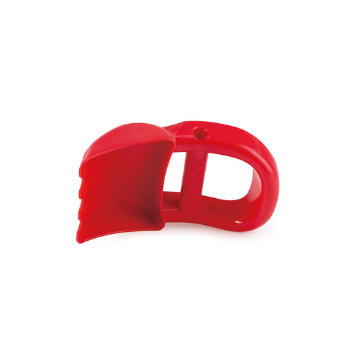 hape red hand digger sand toy