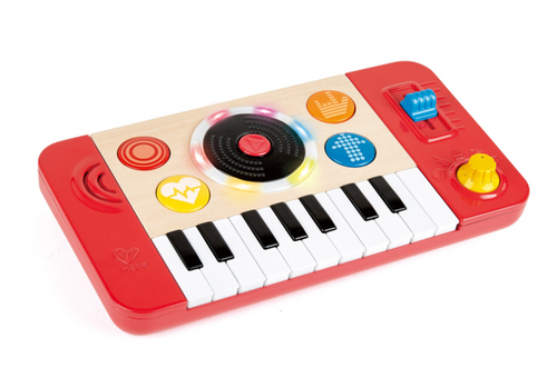 Hape dj mix and spin studio toy