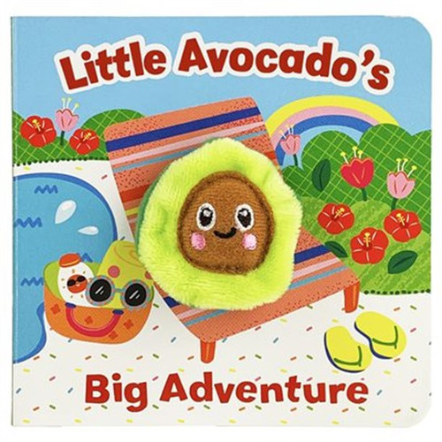 Finger Puppet Book-Little Avocado