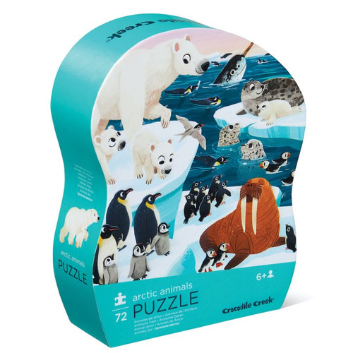 Arctic animals 72 piece puzzle
