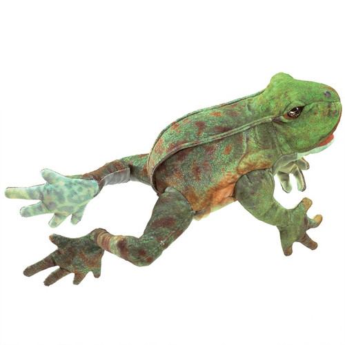 folkmanis jumping frog puppet