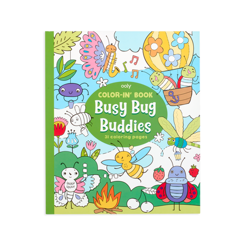 ooly bug buddies colouring book