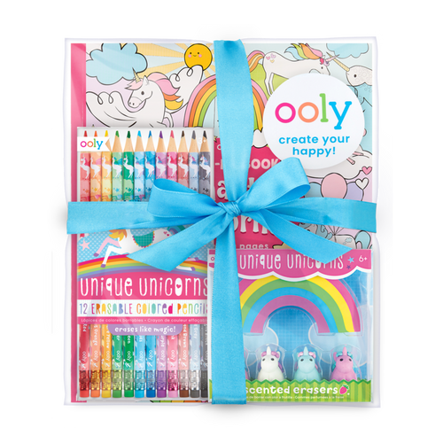 ooly unique unicorns colouring gift pack