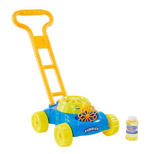 fubbles bubble mower toy