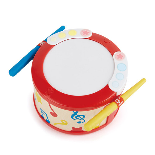 Hape learn with lights toy drum