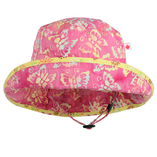 Butterfly Adjustable Sun Hat - Front View