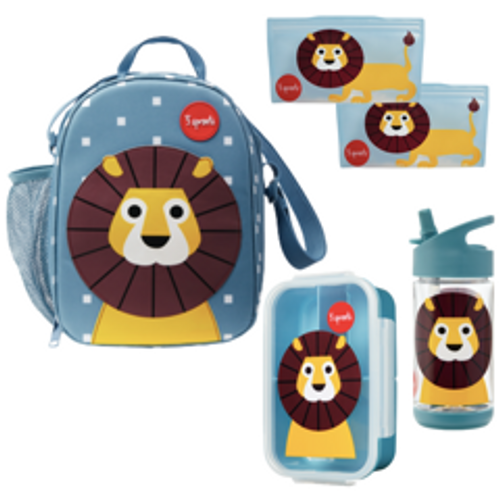 3 sprouts lion lunch kit curated by snug as a bug
