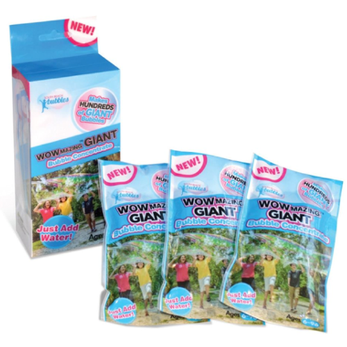 refill soap concentrate for wowmazing giant bubbles