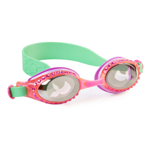 bling 2o kids goggles mermaid in training style reef green colour