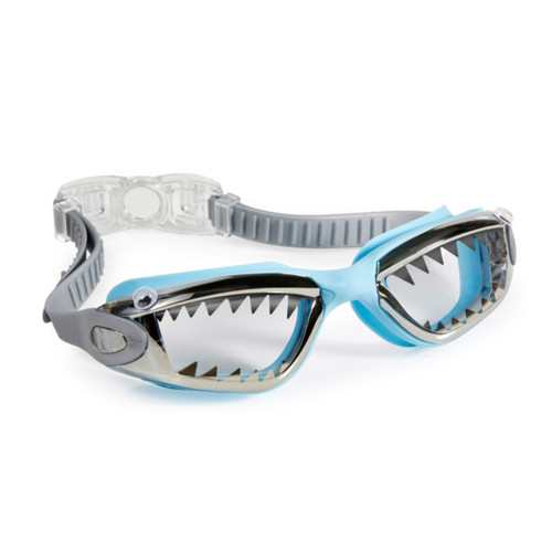 bling 2o kids swim goggles jawsome style baby blue colour