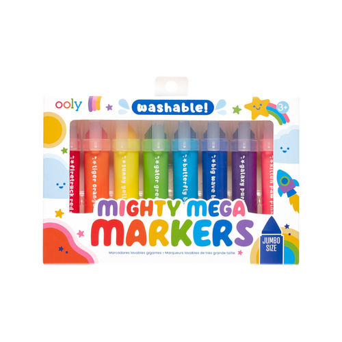 ooly mighty mega markers for kids shown in box